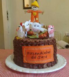 Bolo de Aniversario da Sara