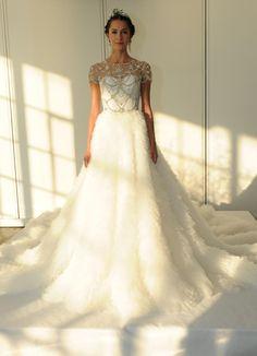See Marchesa s Elegant Glam Wedding Dresses for 2016 3ae69452c55b
