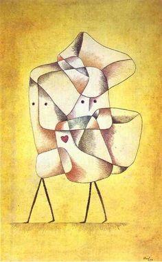 パウル・クレー 『きょうだい』 (1930) Paul Klee - Geschwister #青騎士 #バウハウス #シュールレアリスム