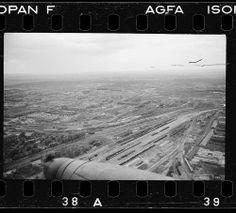 FW-189 in flight. Russia.