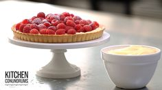 Thomas Joseph shares his no-fuss technique for making pastry cream -- that creamy, delicious filling you can't get enough of in tarts, cream puffs, and eclai...