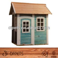 Kids Childrens Backyard Timber Wooden Outdoor Cubby Play House Dfp022s - Buy…