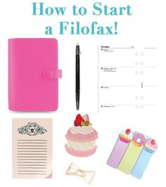 Ever since I became involved with the Filofax community, I have been asked tons of questions about how to start with a Filofax or similar ring bound planner system! It's such a complicated question...