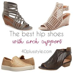 stylish shoes with arch support for fall and winter