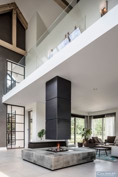 Dordrecht - culimaat - high end kitchens fireplaces дизайн камина, дом и ин Modern Bedroom Design, Modern House Design, Modern Interior Design, Interior Architecture, Interior And Exterior, Bedroom Designs, Living Haus, Casa Loft, Fireplace Design
