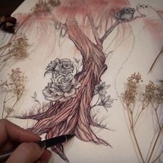 Really enjoying myself with this #willowTree #wip commission I am doing for a friend . Now to add the butterflies and finish the #owls #toBeContinued
