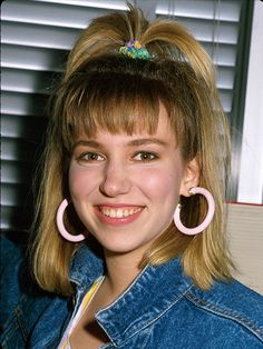 13 Hairstyles You Totally Wore in the '80s: Debbie Gibson's Whale Spout | allure.com
