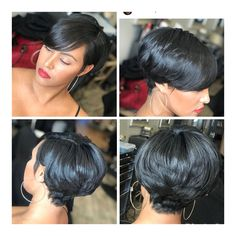 Doubleleafwig Gorgeous Short Pixie Cut Lace Front Human Hair Wig Brazilian Virgin Hair Dream HD Lace Wig With Pre Made Hairline&Bleached Knots Short Sassy Hair, Short Hair Cuts, Short Pixie, Pixie Cuts, Short Bob Hairstyles, Wig Hairstyles, Curly Hair Styles, Natural Hair Styles, Pelo Afro