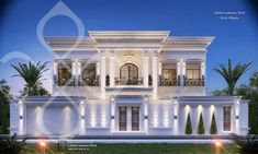 House Arch Design, 3 Storey House Design, House Outside Design, Village House Design, Duplex House Design, Classic House Exterior, Modern Exterior House Designs, Classic House Design, Dream House Exterior