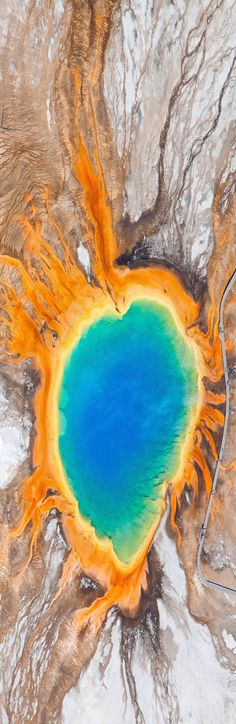 Grand Prismatic Spring in Yellowstone, USA; 101 Most Beautiful Places You Must Visit Before You Die Yellowstone Nationalpark, Yellowstone Park, Places Around The World, Oh The Places You'll Go, Places To Visit, Beautiful World, Most Beautiful, Beautiful Places, Destinations