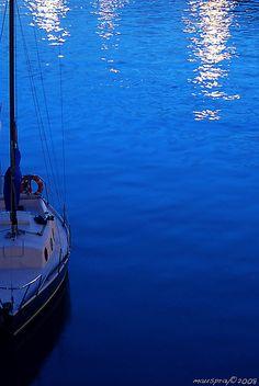 BlueBoat..cobalt blue
