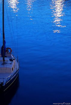 BlueBoat..cobalt blue
