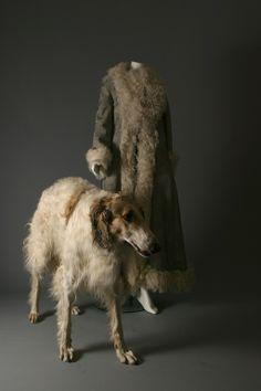 "DIOR by John Galliano, ""Czarina"" lambskin and lace maxi coat, circa 2000"