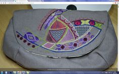 Embroidery Ideas, Hand Embroidery, Cross Stitch, Bags, Colors, Projects, Embroidery, Accessories