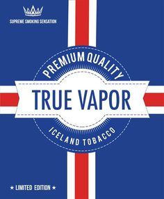 E-juice - Iceland Tobacco - Premium Quality http://www.minecigg.se
