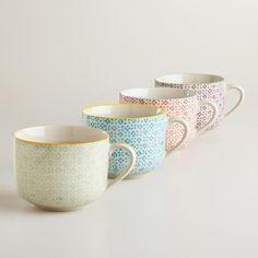 Charlotte Mugs, Set