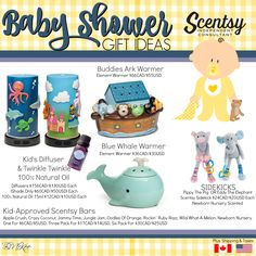 Scentsy - Baby Shower Gift Ideas - Gender Neutral Fall/Winter 2016 Flyer By: Brittany McKee (Gerrity) www.brittanygerrity.scentsy.ca Admin Of: No-Nonsense Canadian Flyers Sharing Group on Facebook