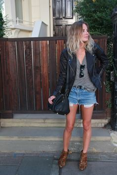 Leather and Leopard | Fashion Me Now