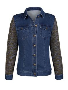 Dress In Jeansjacke in Materialmix Jetzt bestellen unter: https://mode.ladendirekt.de/damen/bekleidung/jacken/jeansjacken/?uid=d2082a60-b68c-52cd-a08c-d6cc14172471&utm_source=pinterest&utm_medium=pin&utm_campaign=boards #jeansjacken #bekleidung #jeans #jacken