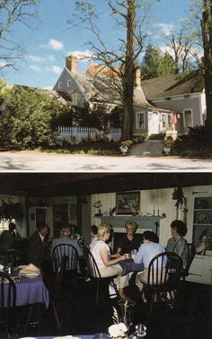 Locust Tree Inn, !979, originally built by Abraham Elting 1759, New Paltz
