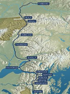 AK RR - Things to do in each city: https://www.alaskarailroad.com/travel-planning/day-trips