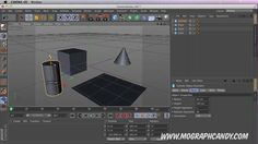 Mograph Candy Cinema 4D New User Quick Tip #9