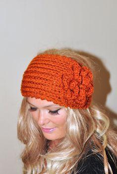 Crochet headband Earwarmer Headwrap Ear warmer Crochet by lucymir