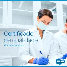 Você sabia? A EMS é certificada pela EMA (Agência Europeia de Medicamentos) e segue rigidamente as normas internacionais de GMP – Good Manufacturing Practices (Boas Práticas de Fabricação). Essa é mais uma garantia da nossa qualidade! #conheçaaEMS