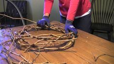 Instead of throwing them in the trash or compost, use invasive vines to make a wild grapevine wreath for your home decor. Keeping Chickens, Raising Chickens, Lavender Wreath, Autumn Crafts, Nature Crafts, Merry Christmas, Christmas Music, Christmas Ornament, Christmas Wreaths