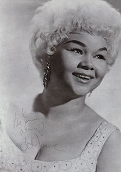 Etta James was one of the best singer on earth. She gives me goosebumps everytime I listen to her
