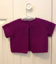 Baby Sweater - Free Pattern - Medium Weight Yarn Crochet Patterns ...