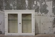Vintage 1940's Metal & Glass Medical Cabinet by MDQualityGoods, $395.00