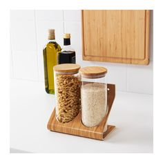 ((2nd bathroom)) RIMFORSA Holder with containers  - IKEA
