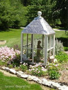Southern Guide to Life ~ The Making of a Garden Cupola ~ A DIY Project