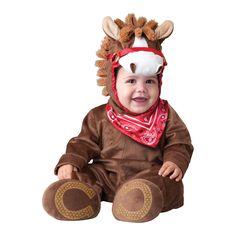 INCHARACTER COSTUMES REF: 6039 PONY JUGUETON - Incluye traje especial con bufanda para que cambies el pañal de tu bebe fácilmente, gorrito con orejas y botines antideslizantes. PRECIO COLOMBIA: 155.000