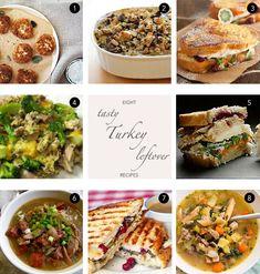 Leftover Turkey Recipes | Damsel in Dior