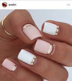 #anaOm on IG... #beyondfab #mani #nailart #pronails #nailsdid
