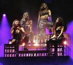 Little Mix: Jesy Nelson, Perrie Edwards, Jade Thirlwall, Leigh-Anne Pinnock performing F. Little Mix Glory Days, Perrie Edwards Style, Little Mix Outfits, Top Singer, Love Of My Live, Litte Mix, Jesy Nelson, Famous Celebrities, Celebs