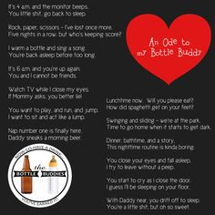 A funny poem about parenting .