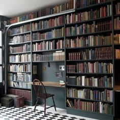 Incredible Home Gothic Decor Design Ideas To Create Unique Home - ideahomy Library Science, Record Wall, Book Worms, Things To Think About, Home Goods, Bookcase, Relax, The Incredibles, House Design