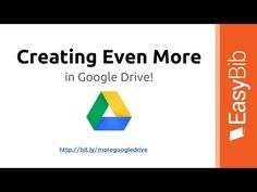 PD Series: Creating More With Google Drive - YouTube