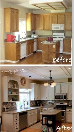 Black Appliances and White or Gray Cabinets - How to Make ...