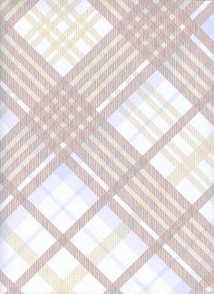 Tartan Wallpaper Vivienne Westwood designed tartan wallpaper in pale blue, beige and brown