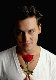 Johnny Depp Photo Mug Gourmet Tea Gift Basket