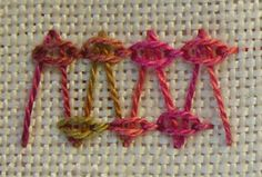 Quieter Moments | with improper stitches — exploring hand embroidery stitches