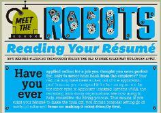 How To Make Resume Robot Friendly [INFOGRAPHIC] | JobCluster.com Blog