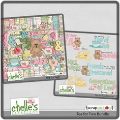 Tea for Two Bundle by Chelle's Creations