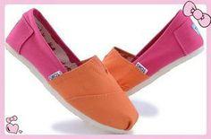 Canvas Stripe Blue Womens Classics Toms Shoes
