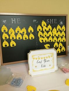 What will it bee baby shower theme