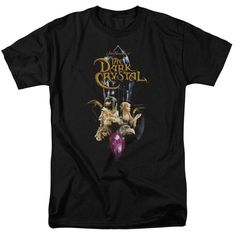 The Dark Crystal™ Movie Shirt Crystal Quest Officially | Etsy Dark Crystal Movie, The Dark Crystal, Movie Shirts, V Neck Tank Top, Graphic Shirts, The Darkest, Long Sleeve Shirts, T Shirts For Women, Crystals
